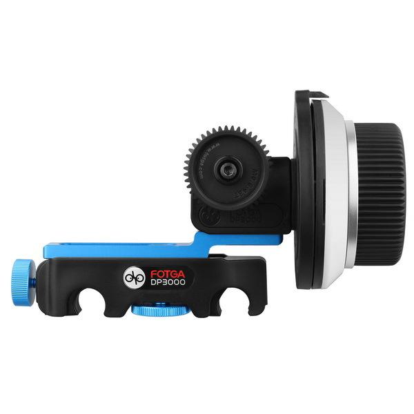 FOTGA DP3000 Pro DSLR מט תיבת שמשיה w/ סופגניות 15mm f רוד הרכבת הציוד 5D II III