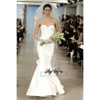 13W026 Ruched Taffeta Mermaid Court Train Gorgeous Luxury Unique Brilliant Bridal Wedding Dress Free Shipping