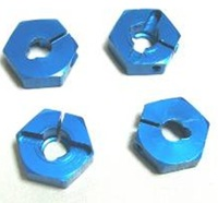 Henglong henyu hl hy metal upgrade metal pieces metal hexagonal set 4