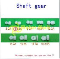 30pcs/lot 0.5 Modulus  Plastics  Shaft gear   Motor  Gear box  Reducing box Toys Fittings  Multi Specification  Free shipping
