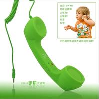 Mini scrub general earphones receiver vintage telephone radiation-resistant handset,MP3/MP4/ DJ headphones High Quality,Free