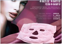 Free shipping Tourmaline Facial Massager Mask Soft Tourmaline Gel and 20pcs Magnets Therapy for Face Skin Massage