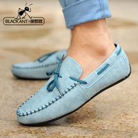 Men's gommini loafers casual shoes male shoes scrub fashion shoes low-top yx
