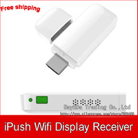 1pc iPush DLNA Wifi Display Dongle Receiver for Smartphone Tablet PC Wireless HDMI Multi-media Sharing Multi-screen Interactive