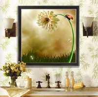 Print 3d cross stitch szx series new arrival print cross stitch 49*49CM