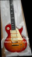 Cherry Burst Ace Frehley Electric Guitar Ebony Fingerboard Wholesale Free Shipping