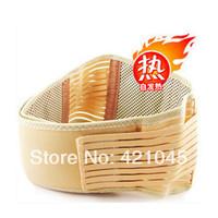 Hot sell!discount!Free shipping!!Tourmaline waist belt self-heating far infrared waist belt  adjustable