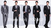 13 The method Er lion degree the latest business Han2 Ban3 suit man the recreational wedding business is pack lounge suit