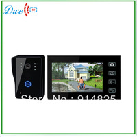 7 inch color  wireless video door phone intercom system