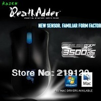 Deathadder Gaming Mouse 3500dpi Infrared does not support drive, Brand New In Box Fast Shipping, in Stock.