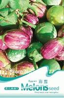 Free shipping 150 Pruple stripe eggplan seeds,,Hydrangea plant seeds,original pack seeds