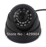 """TF Card Digital Video Recorder 1/4"""" CMOS Intelligent Detection and 24LED  USB Security Dome Camera Infrared night vision"""