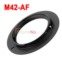 100% New M42-AF M42 Lens to SONY Alpha AF Mount Adapter Ring for a77 a65 a55 a33 a390 a700 a580 Free Shipping
