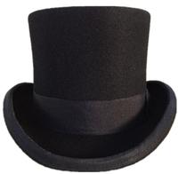 100% Wool Felt Hats New Style AZO Fedoras Cool Pure Woolen fashion jazz hat magic Caps Free Shipping
