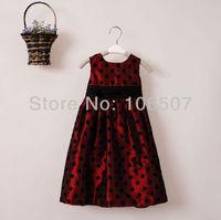 1 pcs girl's pom dress kids' clothing children wedding party princess dress elegant beatuiful tutu satin dress free shipping