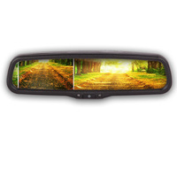 [Factory Made]Hot selling!!!4.3inch rearview monitor car monitor with auto dimming function/special car rear view system