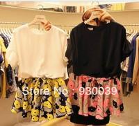 2013 new fashion & cute mini chiffon dresses women's summer casual / career brief clothing 6175