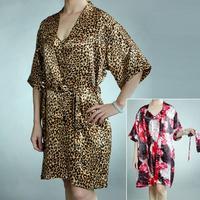 free shipping 2013 New Arrival hot sale women summer thin sleeping skirt home robe dress cute satin pajamas