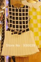 2013 new fashion & cute mini chiffon dresses women's summer casual / career brief clothing 872