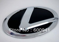 1 PCS Lexus Car Motor Chrome 3D Badge Emblem Sticker  Steering Wheel Hood Bumper Pillar 57MM