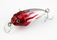 3pcs/lot high quality floating fishing lure hard plastic crank bait ( 70mm 13g vmc hooks )