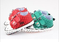 Free shipping High quality kid baby shoes newborn baby boy shoes dinosaurs baby first walkers shoes Wholesale retail