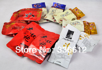 Promotion! 5 Kinds Flavours Oolong Tea, including , Dahongpao, Tieguanyin, Milk Tea, ...