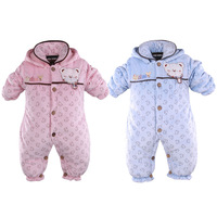 Winter baby clothing clothes infant wadded jacket baby autumn and winter baby cotton-padded jacket 0-1 year old 1 - 2 years old