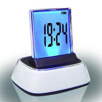 Big screen luminous clock multifunctional alarm clock led electronic clock colorful mute table clock 110b