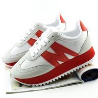 Agam casual shoes platform shoes color block decoration platform shoes women's shoes color block sports cannonading shoes
