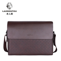 2013 laorentou crocodile shoulder bag business casual male messenger bag 267025 - 3