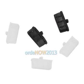 O3T# 5Pcs Silicone HDMI Port Hub Plug Cover Cap Anti-Dust Protector for TV PC