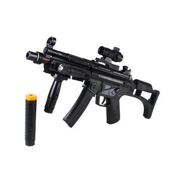Electric artificial gun toy gun model vocalization boy toys luminous