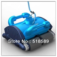 The Newest And Best Christmas Gift Automatic Swimming Pool Cleaner+Remote Controller+CE&ROHS+Free Shipping By Fedex