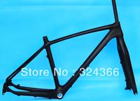 """Full carbon UD Matt Matte MTB 650B 27.5ER mountain bike 27.5"""" Wheel frame (BB30)  ,  fork , Headset . 17"""",  19"""""""