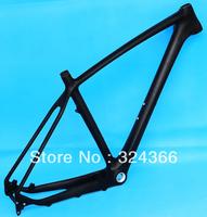 "Full carbon UD Matt MATTE MTB 650B 27.5ER mountain bike 27.5"" Wheel frame (BSA English Thread)  and headset 17"",  19"""