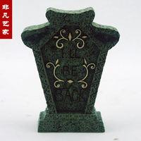 resin halloween decoration stone halloween decoration halloween gift halloween tombstone