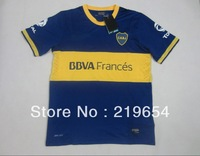 ^_^ Boca Juniors home new  Season   thai  top quality  3a+  Player Version  soccer jerseys free shipping shirts
