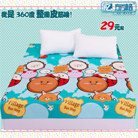 Bedspread 1.8 meters bed sanded thickening ring rubber band fitted sliding 0.9 child bed simmons fitted