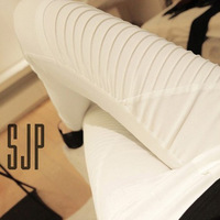 Free shipping 2014 New fashion Spring/Autumn Women's sexy Europe and America was thin leggings stretch pencil pants wholesale