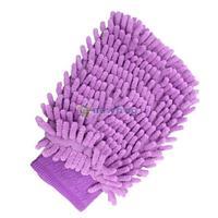 1x New Microfiber Car Washing Cleaning Glove Mitt N S7NF