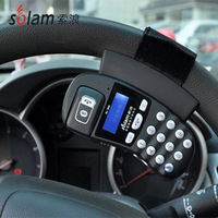 Solam SL-880 steering wheel car bluetooth speaker phone car bluetooth caller id(include English version manual)