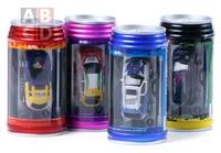 Coke Can Mini RC Radio Remote Control Micro Racing Car Radio Control Toys