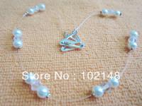 Hotsale Decorative Elastic bra straps shoulderstaps with pearl + crystal