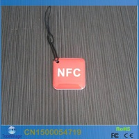 (10PCS/LOT) 13.56MHz Smart NFC Tag / RFID Card For Andriod NFC Mobile  Free shipping