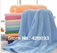 Free Shipping-100% Microfiber Ultrafine Fiber Solid Color Bath Towel Super Soft Quicky Dry Absorbent 70*140cm