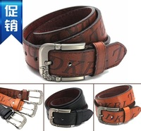The trend of fashion all-match strap male personality belt women's belt cronyism casual