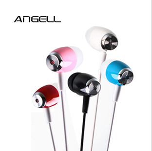 Free shipping Fashion Mobile phone/MP3/MP4/MP5 earphones ON Bass enhanced version Effect 5 colors for your choose(China (Mainland))