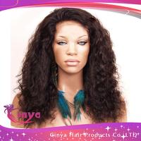 Preferential!!!5A grade Brazilian human hair dark brown silk top full lace wig,glueless silk top full lace wig,130%density