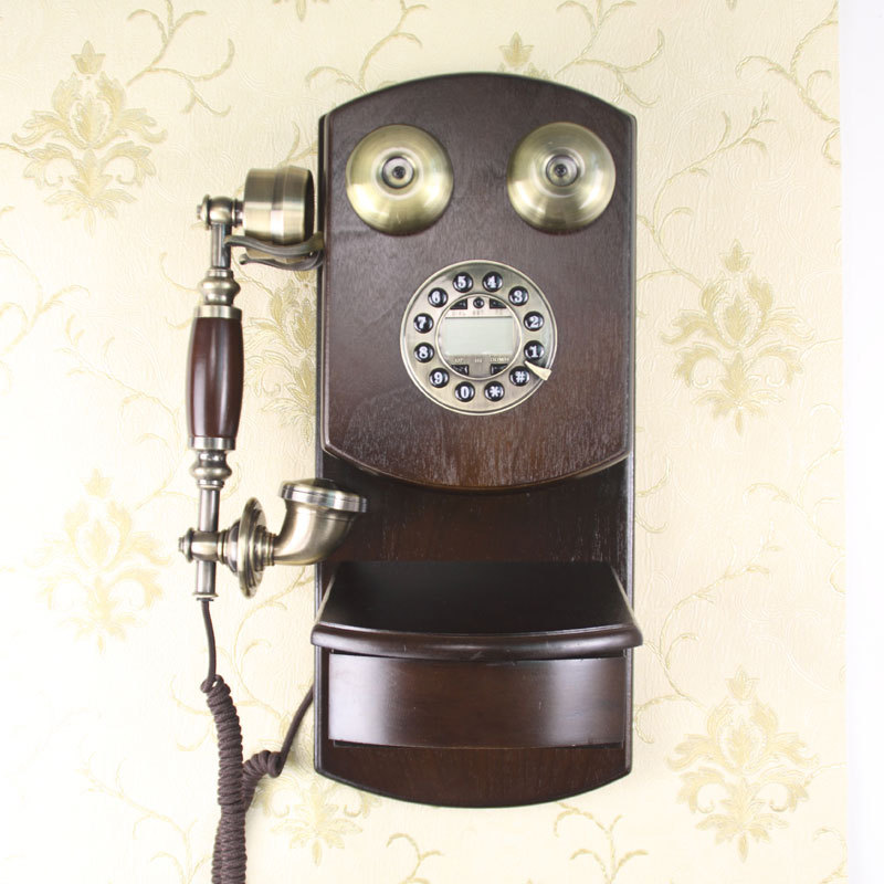 Wall wall vintage caller id telephone(China (Mainland))